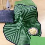 Spiral Lapghan free crochet pattern