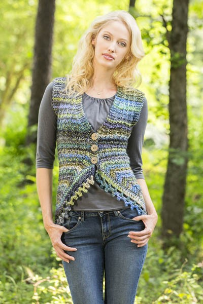 Sprite Vest Free Crochet Pattern