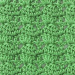 Stacked Clusters Free Crochet Stitch