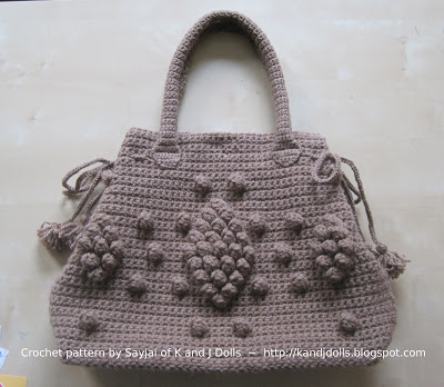Taupe Bag crochet pattern