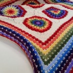 The Rainbow Beast Crochet Blanket Pattern Free