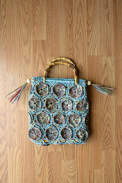 Tiki Tote Free Crochet Pattern