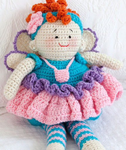 Tooth Fairy Doll Free Crochet ⋆ Crochet Kingdom