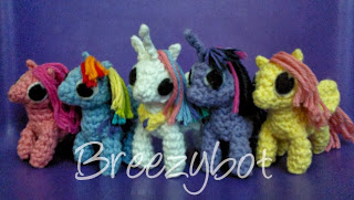Little Amigurumi Patterns Free : Wee my little pony inspired amigurumi pattern ⋆ crochet kingdom