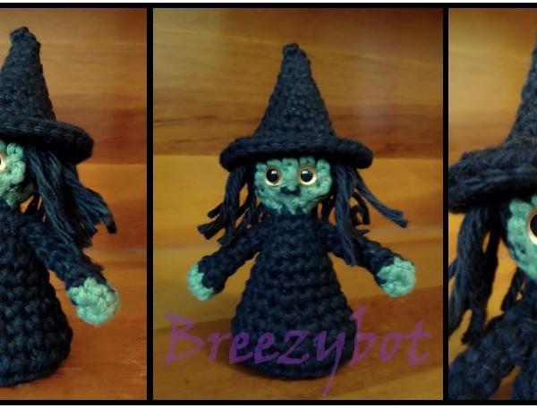 Free Amigurumi Witch Pattern : free Halloween crochet patterns Archives ? Crochet Kingdom