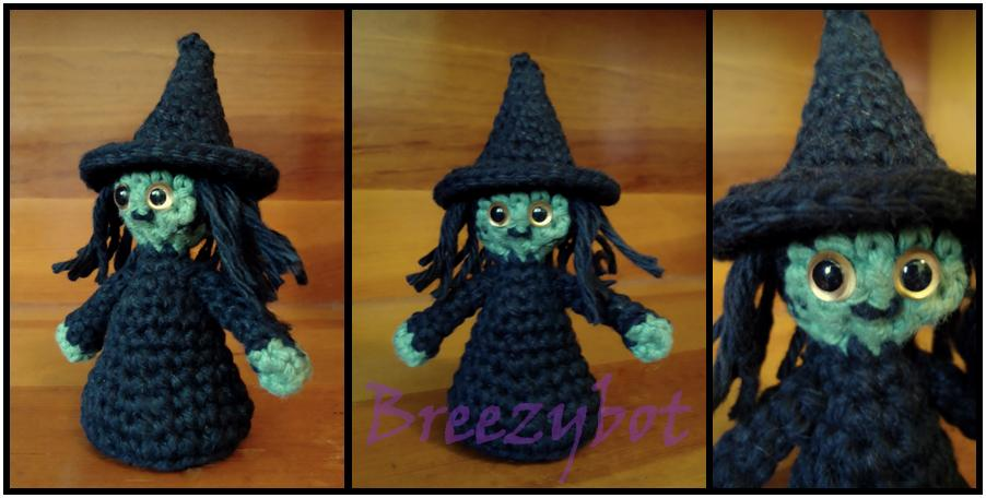Wee Witch Amigurumi Free Pattern ⋆ Crochet Kingdom