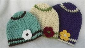 Zen Baby Hat free crochet pattern
