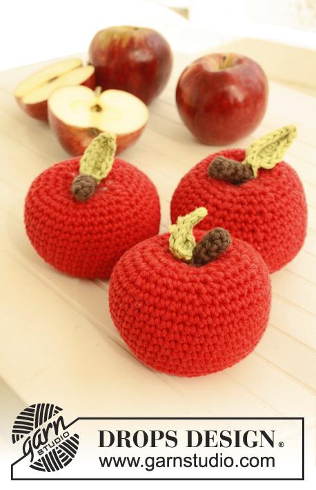 Free Crochet Pattern: ambrosia apples