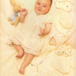 Complete Lace Crochet Baby Layette Pattern