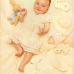 crochet baby layette patterns