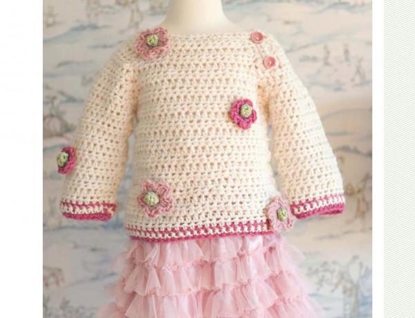 Crochet Baby Sweaters ? Crochet Kingdom