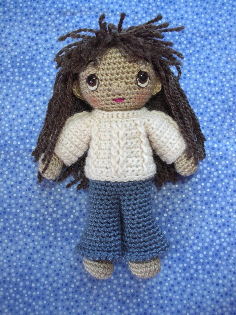 basic amigurumi doll pattern free