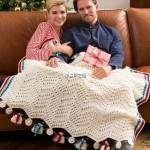 Chevron Bubble Crochet Blanket Pattern