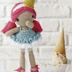 Gelato Crochet Doll