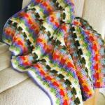 Scrap Afghan Crochet Pattern