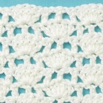 Free Crochet Stitch Shells with Stems