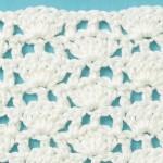 Free Crochet Stitch Shells with Stems