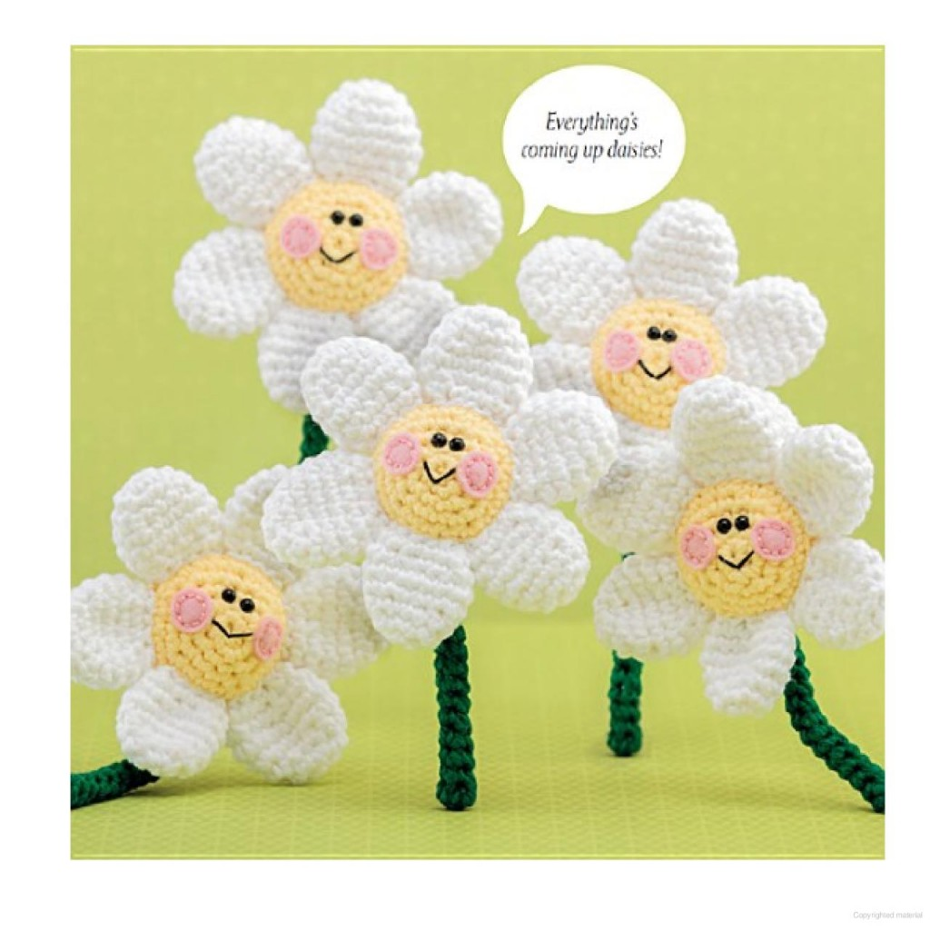 Amigurumi Flower Tutorial : Daisy Amigurumi ? Crochet Kingdom