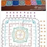 Diamond in a Square Crochet