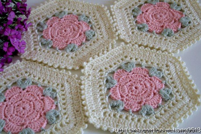 Flower Hexagon Crochet Motif Diagram Only Crochet Kingdom