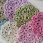 Circle Flower Motif to Crochet
