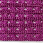 Free Cable Crochet Stitch