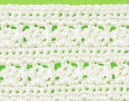 Free Crochet Stitch Shells Stand Out