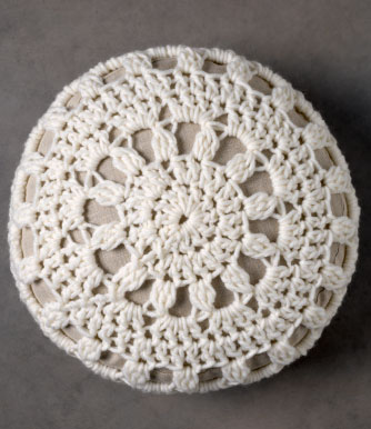 Free Round Pillow Crochet Pattern Archives ⋆ Crochet