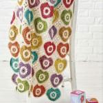 Motif - Heart Crochet Blanket