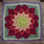 Huge flower crochet pattern