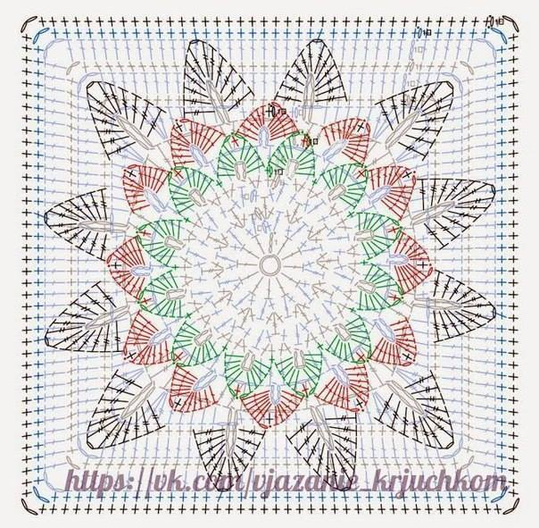 Huge Flower Crochet Pattern ⋆ Crochet Kingdom