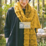Large Fan Stitch Shawl Crochet Pattern