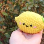 lemon Amigurumi Crochet Pattern