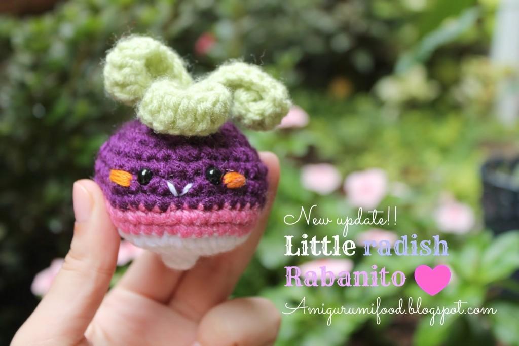 little radish crochet amigurumipattern