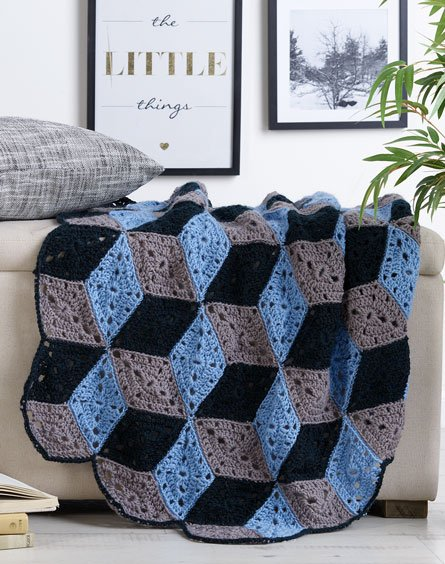 Free Triangle Blanket Crochet Pattern Archives ⋆ Crochet