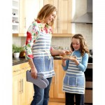 Aprons for Mom and Me free crochet pattern
