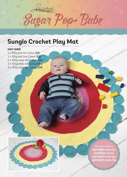 Baby Crochet Playmat
