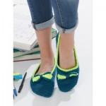 Bow Tie Slippers Free Crochet Pattern
