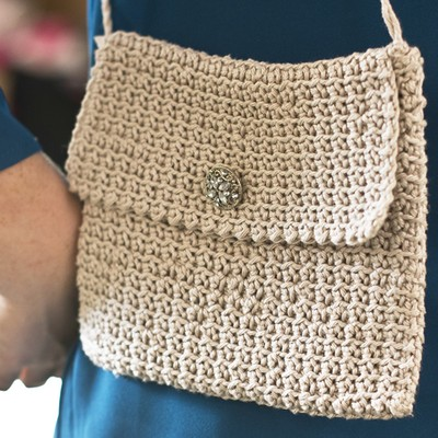 Cool Crocheted Bag free pattern