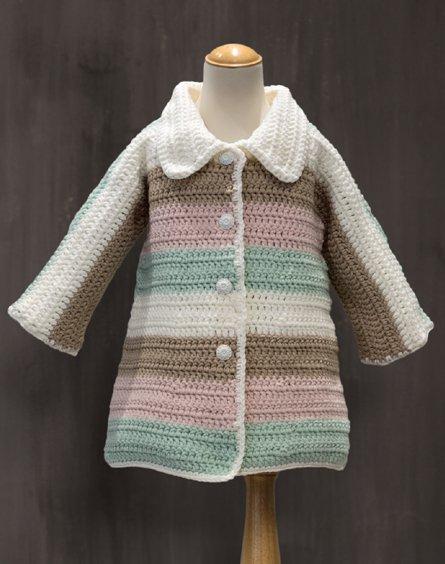 Crochet Swing Coat