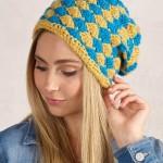 Egerton Twist Beanie Free Crochet Pattern