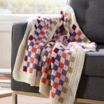 Geometric Throw Free Crochet Pattern