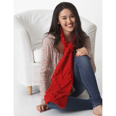 Heart Scarf Free Crochet Crochet Kingdom