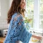 Kitchen Cotton Open Air Shrug