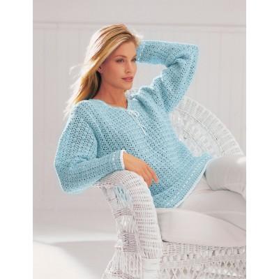 Free Crochet Pattern V Neck Pullover : Patons V-Neck Tunic Sweater Crochet Pattern ? Crochet Kingdom