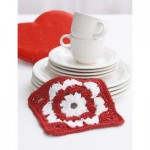 Valentine Dishcloth Crochet Free