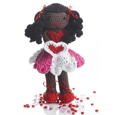 Valentines Lily Doll Free Crochet Pattern ⋆ Crochet Kingdom
