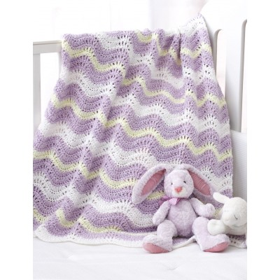Wavy Ripple Baby Blanket