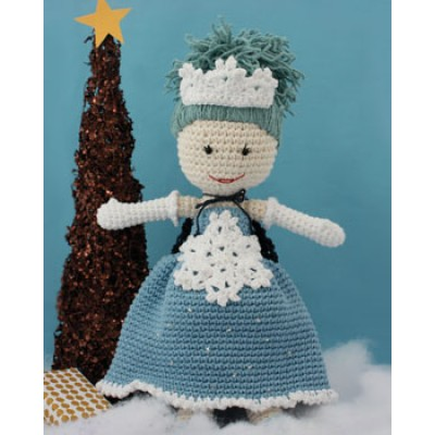 Winter Princess Lily Doll Free Crochet