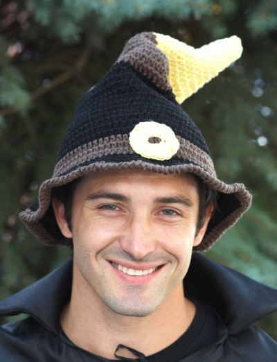 Witch or Wizard Hats Free Halloween Crochet Patterns 1